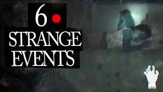 6 Mysterious and Strange Events Caught on Tape