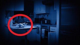 Extremely Violent Poltergeist Activity Caught on Video - Real Paranormal Activity Part 12
