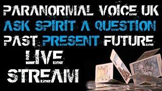 Ask the Spirits a Question | LIVE STREAM | Spirit Box Session