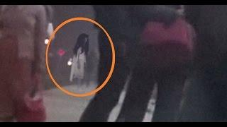 GHOST Girl caught Standing in Railway station! Ghost Girl Filmed On Mobile Cam Scary Videos