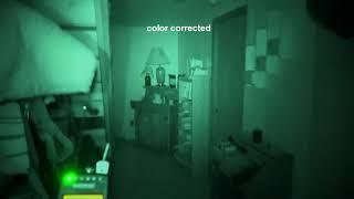 ghost adventure style night vision test video, keep it or change?