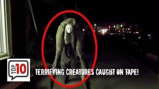 Worlds Most Terrifying Creatures Caught on Tape (WARNING)