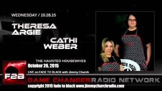 Ep. 347 FADE to BLACK Jimmy Church w/ The Haunted Housewives: Haunted Places, LIVE on air