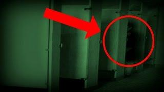HAUNTED SCHOOL BUILT ON OLD CEMETERY! Haunted School Bathroom Stall! *SCARY*