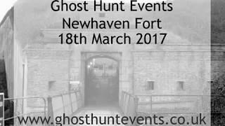 Newhaven Fort ghost hunt - 18th March 2017 - EVP 1