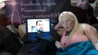 """Paranormal Pillow Talk Live Interview with """"Estate of Horror"""" Chris, son of Antia Jo Intenzo.."""