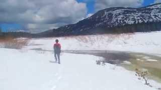"""Showers Lake - Part 10 """"Crossing The Iced Over Truckee River"""""""