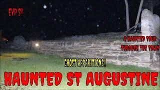 HAUNTED ST AUGUSTINE /  TOURING THE TOWN WITH JOE & ROB!