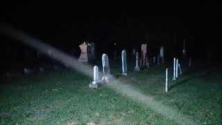 A NIGHT IN A HAUNTED INDIANA CEMETERY