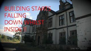 Pool Park Asylum Day Visit - BUILDING STARTS FALLING DOWN WHILST INSIDE!