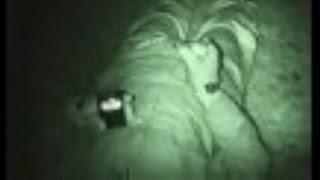 Real Paranormal Activity Caught On Tape At Haunted Graveyard - This Is Very Strange