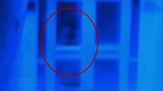 Real Life Paranormal Activity Caught On Camera   Ghost Caught On Camera From A School Corridor   You