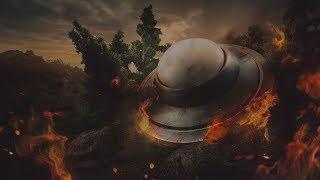 Huge UFO Entering On Earth Captured | Top 10 Videos Of Alien Sightings Captured On Camera | Scary