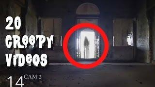 Top 20 Ghost Caught On Tapes! Creepy Real Paranormal Activity