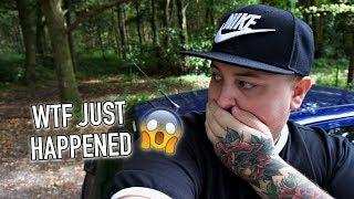WTF JUST HAPPENED // INSIDE HAUNTED FOREST ALONE (scary)