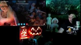 Pumpkin Carving LIVE with PumpkinHead & Ghost Box and... Haunted Dolls.
