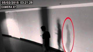 Ghost Following a Man Recorded in Cctv Camera !! Real Evidence of Ghostly Spirit Captured on Cctv