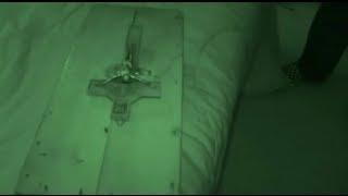 Real Scary Demon Paranormal Activity Footage Captured Ghost Box EVP