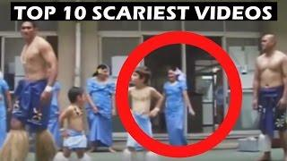 Top 10 Spookiest Videos of Real Ghosts That'll Spook You ! Creepiest Ghost Videos In Real Life