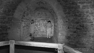Spirit Light Recorded on Location in a Castle