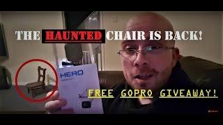 The HAUNTED Chair LIVE! | Free GOPRO Giveaway!? | GHOSTS In My House? | HAUNTED Dolls?