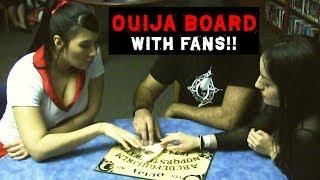 Fans Use Ouija Board For The First Time!