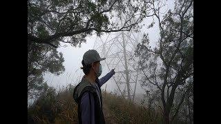 Foggy Scary Hike In The Sky