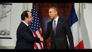 Obama and Hollande pledge solidarity against Islamic State [ Subtitles ENG ]