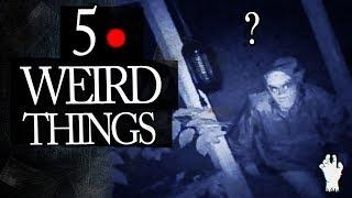 5 Mysterious Things People Caught On Tape
