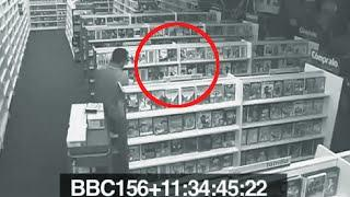 CREEPY VIDEOS Paranormal activity in store caught on camera | CCTV creepy video of real ghost