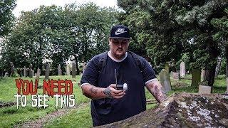 Speaking with Ghosts at Old Haunted Graveyard You Need to See This!