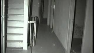 "Ghost opens door and scares ghosthunters ministers home ""The Door"""