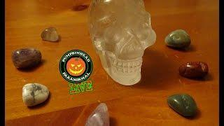 LIVE Spirit Box Sessions with my Crystal Skull, Trying LIVE Spirit Communication.