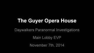 The Guyer Opera House EVP