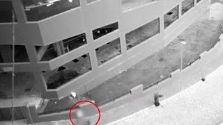 Real Ghost Caught On CCTV Camera | Ghost Attacking Construction Workers | True Ghost Videos