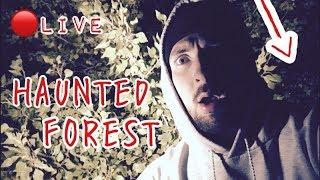 (LIVE) ALONE IN FOREST HAUNTED BY DISTURBED WOMAN SPIRIT