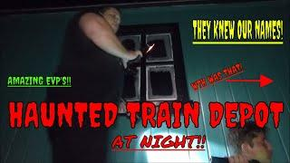 "HAUNTED TRAIN DEPOT & TRAIL ""CREEPY EXPERIENCE""!!"