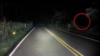Real Ghost Caught on Camera From a Haunted Road !! Paranormal Activity Compilation