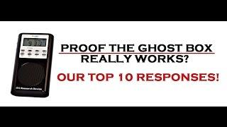 PROOF The Spirit Ghost Box Works? | PARANORMAL-X Top 10 Best Responses | REAL Footage
