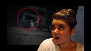 Ghost Hunt in abandon barn CAUGHT ON TAPE + EVP