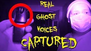 REAL PARANORMAL ACTIVITY INSIDE SCARY ABANDONED HOSPITAL