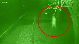 Weird Ghost Appearance Caught On CCTV Camera On Abandoned Road!!
