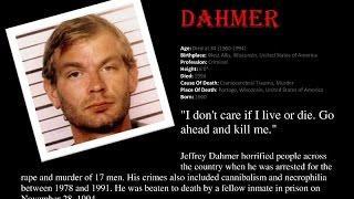 Serial Killers LAST Words - TOP 8