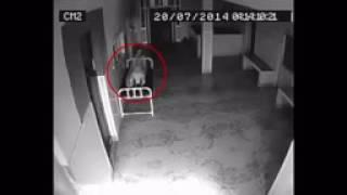Ghost Coming Out Of Dead body Caught On CCTV Camera   Soul Leaving Dead Body, Hospital CCTV Footage