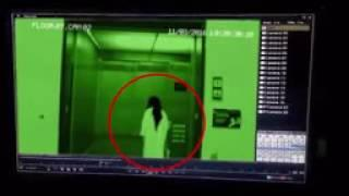 Ghost Attack Caught On CCTV Camera   Ghost Attack In Elevator   Ghost CCTV Footage   ghost hunting
