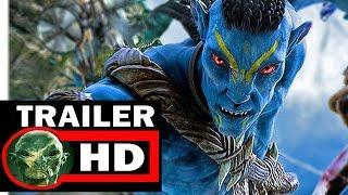 AVATAR 2 LOST OCEAN TRAILER 2018 2019 - oficial trailer FULL HD 2017