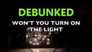 DEBUNKING HUFF PARANORMAL THE DARK ROOM SPIRIT COMMUNICATION PART 3