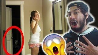 Real Life Paranormal Activity (Try Not To Get Scared) REACTION!