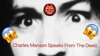 CHARLES MANSONS DEAD CRAZY SPIRIT BOX SESSION VIDEO 3 AM