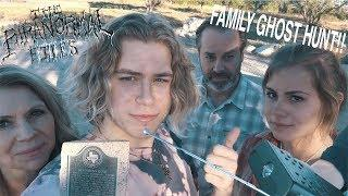 GHOST HUNTING WITH MY FAMILY AT DEAD MAN'S HOLE - The Paranormal Files, Ep. 20 NEW HD